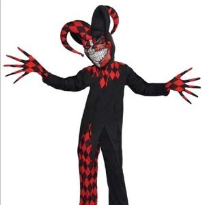 Krazed Jester Child Costume  X-Large XL